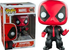 Deadpool In Suit