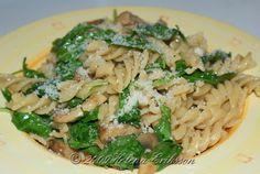 Pasta med svamp och rucola #Recept