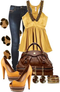 "Oh I love those colors!!!!     ""♥"" by jessica-luna on Polyvore"
