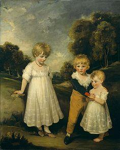 painted 1796.  John Hoppner: The Sackville Children (53.59.3) | Heilbrunn Timeline of Art History | The Metropolitan Museum of Art