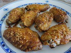 Alitas de pollo morunas al horno
