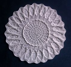 Exceptional Doily, design by Mary Werst, crochet, cotton Doilies, Elf, Mary, Knitting, Crochet, Cotton, Handmade, Design, Hand Made