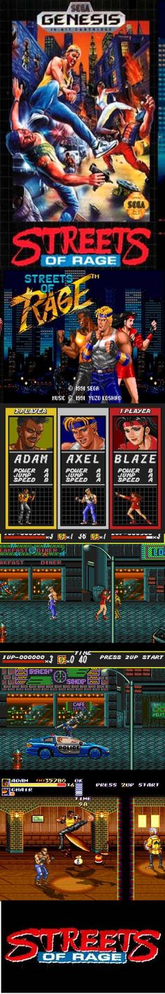#RetroGamer In #StreetsofRage 3 people set out to take on a crime syndicate! #Sega http://www.levelgamingground.com/streets-of-rage-review.html