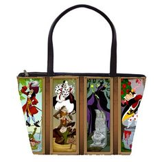 Disney Villains Double Sided Tote Bag Free by Totalchaosbootique