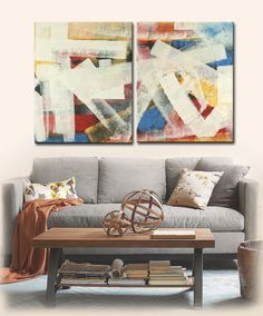 LARGE ABSTRACT Painting ORIGINAL Painting by ARTbyLESTstudio