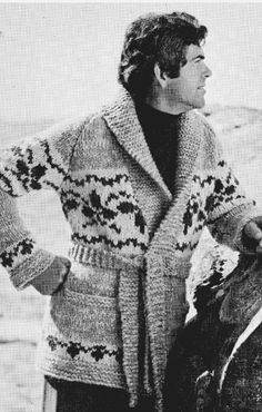 Chinook Knitting Pattern  Wrap Knit Sweater  on by KilbellaVintage, $4.00