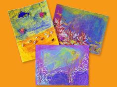 Ocean Scenes and Coral Reefs lesson plan