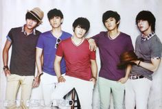 FT Island Korean Group Band HD Wallpaper