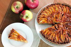 Anything with apples and almonds...anything. apple tart with almond cream