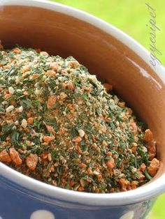 egycsipet: Ételízesítő - vegamix Hungarian Recipes, Hungarian Food, Food Crafts, Ketchup, How To Dry Basil, Pesto, Vitamins, Spices, Beans