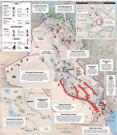 Iraq War Map …