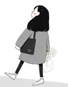 Japanese Drawings, Easy Drawings, Aesthetic Drawing, Aesthetic Art, Sailing Tattoo, Cute Couple Art, Kawaii Doodles, Dibujos Cute, Cartoon Art Styles