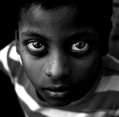 You saw it in my eyes, the pain and loneliness. And still I will not say it. Taken at Karunai Illam, Chennai, India - Rakesh JV