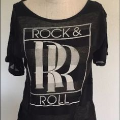 "Selling this ""Rad Rolls Royce Logo Rock N Roll Shirt Blouse S/M"" in my Poshmark closet! My username is: novasma. #shopmycloset #poshmark #fashion #shopping #style #forsale #Rock N Roll #Tops"