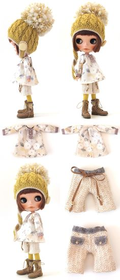 ** Blythe outfit ** Lucalily 378** : mahounote.