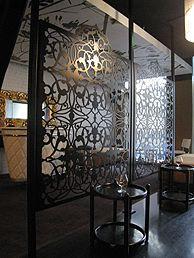 decorative metal screen idea #1