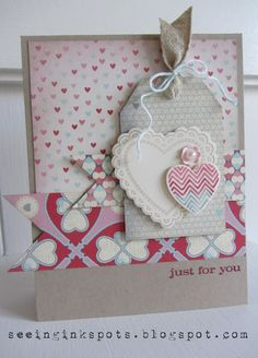 Stampin' Up! Valentine  by Elizabeth Price at Seeing Ink Spots