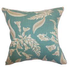 Kaitaia Floral Throw Pillow