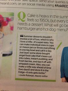 Easy Summer Trifle