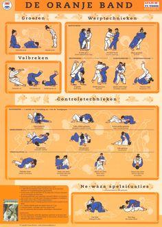 Orange Band-Judotechnieken | Paul Thomas
