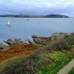 Beautiful shot of St Anthony Lighthouse taken from Pendennis Point in Falmouth, Cornwall. A winning shot taken by Laura Stephens as part of our Autumn Walks competition.