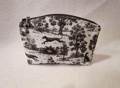 Cosmetic Bag / Make up Bag / Tote / Pouch / by FelicitiesCrafts, $14.00