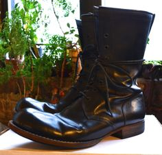 Carpe Diem Grail S61m Cordovan Boots Size 9 $995