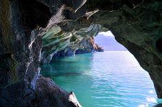 Cavernas de Marmol - Patagonia Chilena by Noelegroj( De regreso y poniendome al dia), via Flickr
