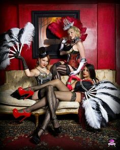 Chilming burlesque party ideas for a hen night maybe? www.chilming.com