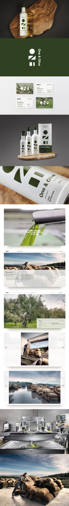 Branding, packaging, photography, web design and web development project for One & Olive, Premium Greek Extra Virgin Olive Oil from the beautiful village of Manessi, Messinia, Greece.