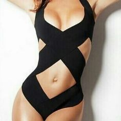 Fashion Black Crossover Bandage Swimwear Brazilian Fashion Black Crossover Bandage Swimwear Brazilian Sexy Women Monokini One Piece Swimsuit  Model Number1332 Specifications:?  82% chinlon  18% spandex Package 1 x?one piece Each pcs packed in a polybag? Package: ? Material: High-end swimwear fabric.Soft hand feel, comfortable to wear. Excellent quality.(Hardwearing.High elastic fibers) Swim
