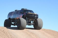 stretch Ford monster truck limo