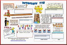 ACERTIJOS MATEMÁTICOS Mother Quotes, Algebra, Education, Math, Brain, David, Blog, Puzzle, Google