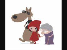 Le petit chaperon rouge. Histoire pour enfants (La véritable fausse hist... What Is Red, Reading Club, Wolf, Retro Ads, Red Riding Hood, Big Picture, Little Red, Animation, Illustration