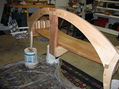 Maple and Cherry Garden Bench - Woodworking | Videos | Plans | How To