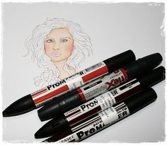 FlexMarker & ProMarker Tutorial: Colouring Red Hair