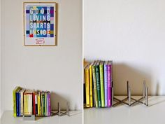 LAUsNOTEbook: Easy Book Rack | Ikea Hack