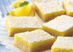 My one true love is lemon deserts. They have to be nice and tart, sweet, rich and perfection, all rolled into one! Lemon bars to make your lips pucker! Creamy Cheesecake Recipe, Cheesecake Bars, Cheesecake Recipes, Yummy Treats, Sweet Treats, Lemon Bars, Lemon Desserts, Fresh Fruit, Gem