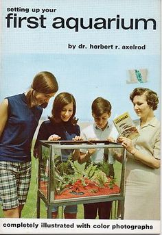 Setting up Your First Aquarium by Herbert R. Axelrod (1980 Paperback)