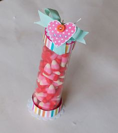 Candy Tube (includes tutorial how to make tubes with transparency)