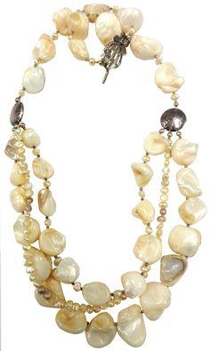Studio BBG - Multistrand Freshwater Pearl Necklace