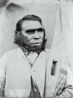 Full-blood aboriginal Tasmanian Possibly the last of his kind. The original Tasmanians