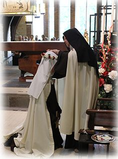 Carmelites of Terre Haute   Sister Christine's      First Profession
