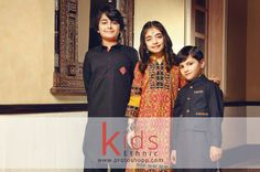 Dress your children for night party with our ethnic wear collection
