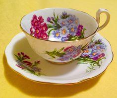 Vintage Princess Louise Royal Standard Bone China England Tea Cup Saucer Set  #PRINCESSLOUISEROYALSTANDARD