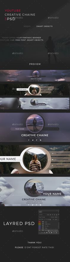 Creative Youtube Channel Cover Template PSD. Download here: http://graphicriver.net/item/creative-youtube-channel/15720192?ref=ksioks
