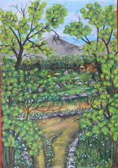 Tempera, Painting, Painting Art, Paintings, Painted Canvas, Drawings