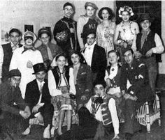 """""""The Chanukah costume Party at the Shanghai Jewish Community Center on December 13, 1947"""". Photo courtesy of Harry Sydel"""