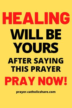 Healing will be yours after saying this prayer. #Healing #God #Jesus #catholicfaith #March2021 #Prayerinspiration #Powerful Lent Prayers, Short Prayers, Spiritual Prayers, Answered Prayers, Prayers For Healing, Bible Prayers, Catholic Prayers, Short Prayer For Healing, Power Of Prayer
