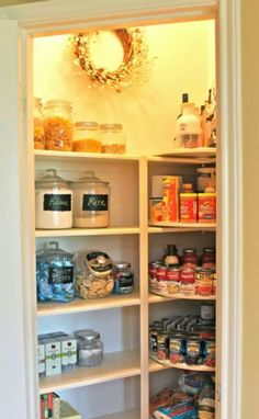 How To Turn Your Messy Pantry Into Something Amazing With Just A Drill And Some Baskets